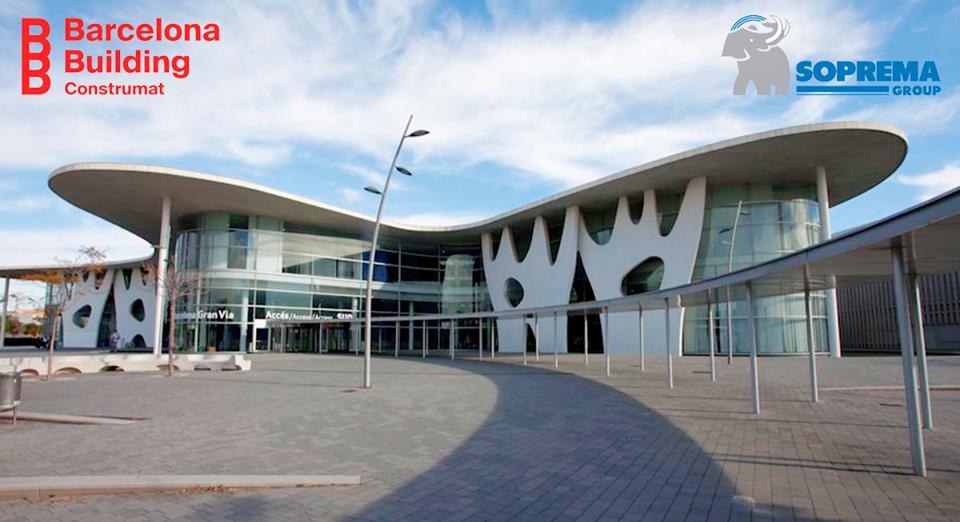 Soprema Iberia participará en la Feria Construmat 2019