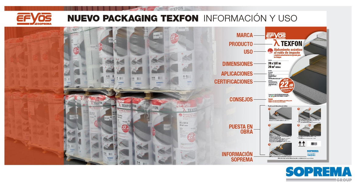 Nuevo Packaging TEXFON