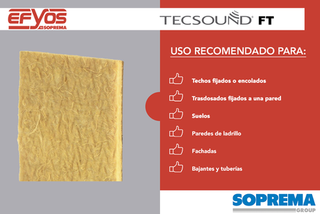 TECSOUND FT COMPLEJO INSONORIZANTE