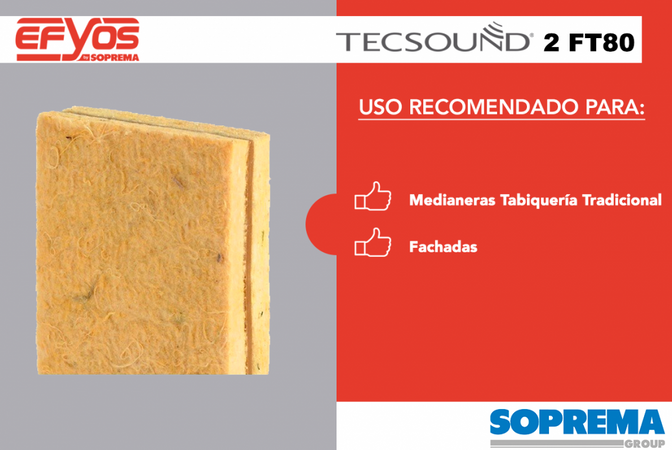 TECSOUND® 2FT  Complejo insonorizante