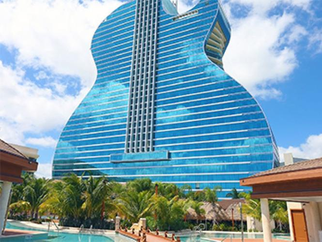 Guitar Hotel- Seminole Hard Rock Hotel & Casino