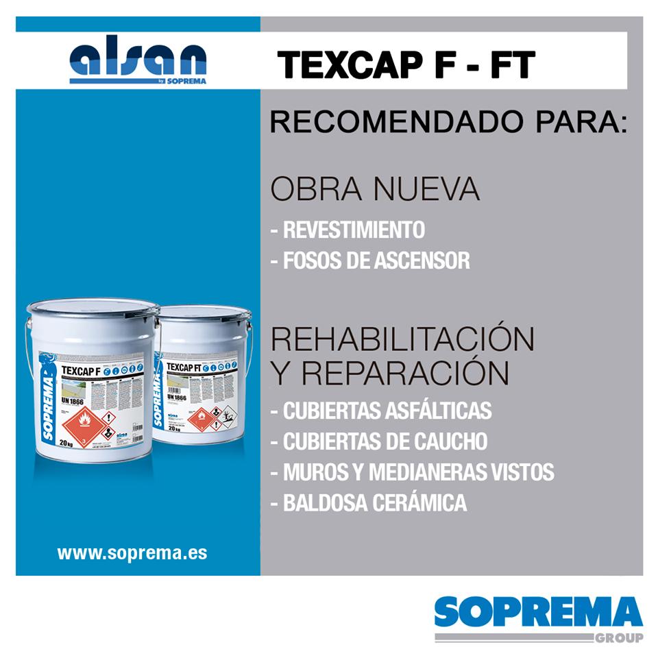 TEXCAP F - TEXCAP FT revestimientos de poliuretano alifático